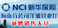 新华人寿保险股份有限公司bwin娱乐手机登录分公司洋浦营业厅